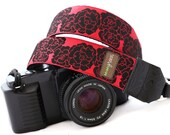 The Diane DSLR Camera Strap with Quick Release Buckles -- 1.5 inches wide