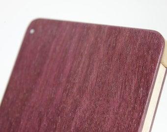 Wood Business Card Holder (Purpleheart)