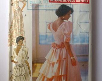 Butterick 1989 Bridesmaid Dress pattern - 4466