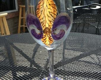 LSU Beer Mug or Wine Glass