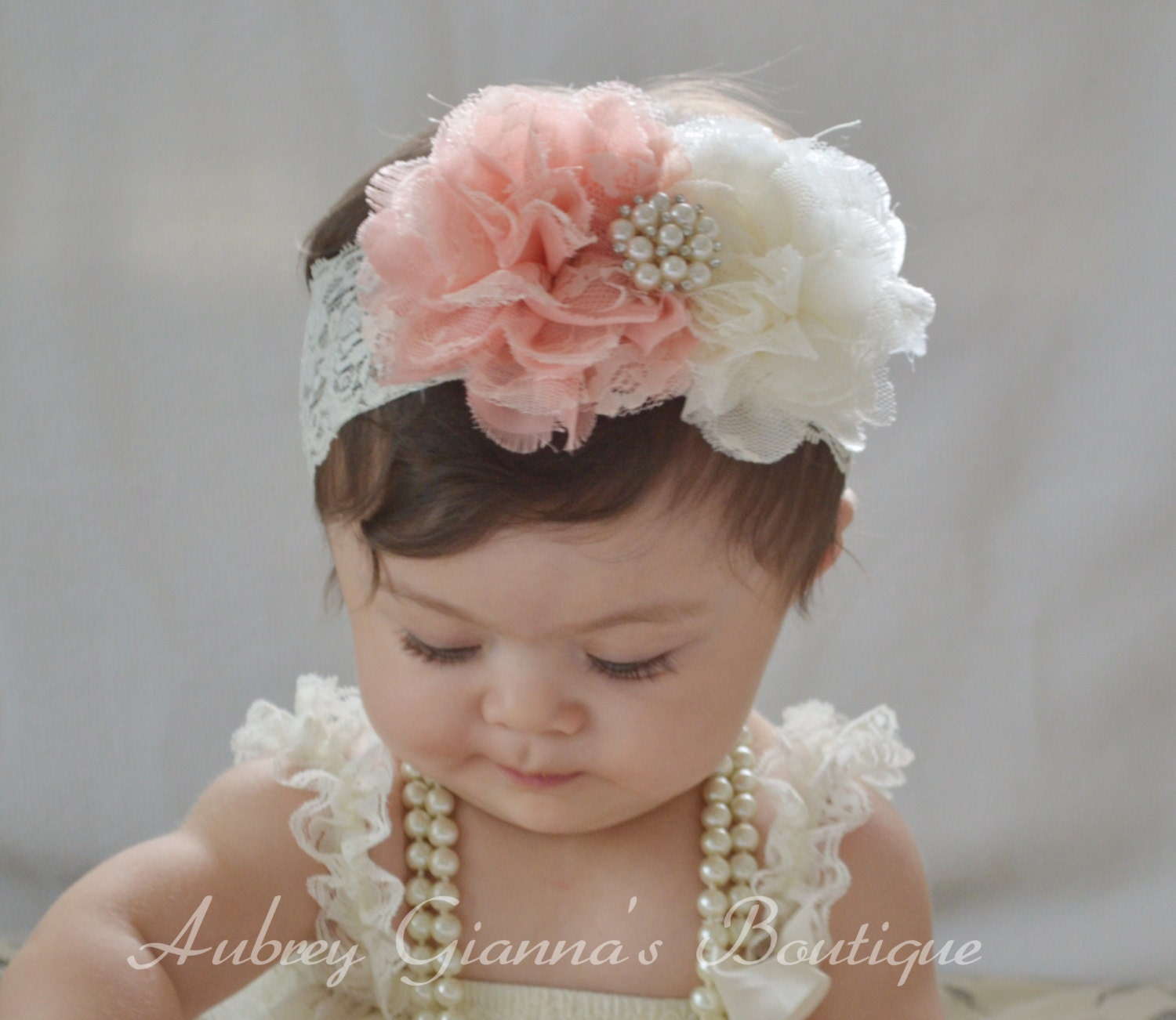 Boutique Style Headband You Pick Color Baby Headband
