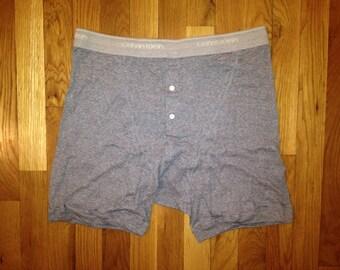 vintage calvin klein striped boxer brief mens size XL deadstock NIP 1993