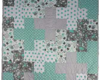 Simple Addition - Boy Quilt