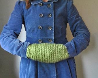 Modern Hand Muff / Hygge / Wearable Tech / Crochet Hand Muff / Modern Clothing
