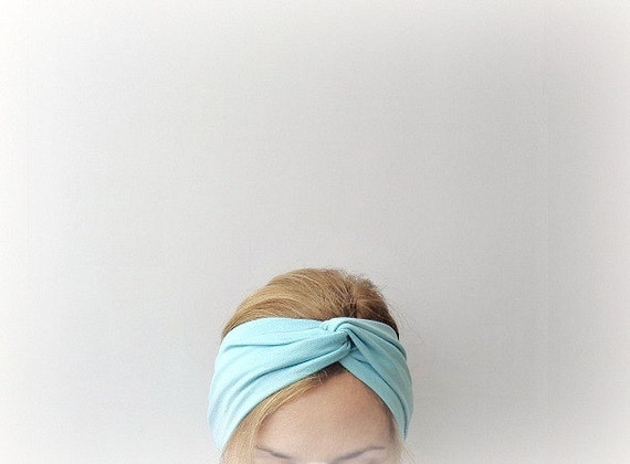 https://www.etsy.com/listing/163003570/minimal-mint-twist-headband-turban