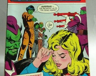 """Vintage Supergirl Comic Book No. 5, """"The Devil's Brother"""", Vol. 2, June 1973, DC Comics"""