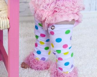 Leg Warmers,Polka Dot Leg Warmers, Baby Leg Warmers, Toddler Leg Warmers, Girls Leg Warmers