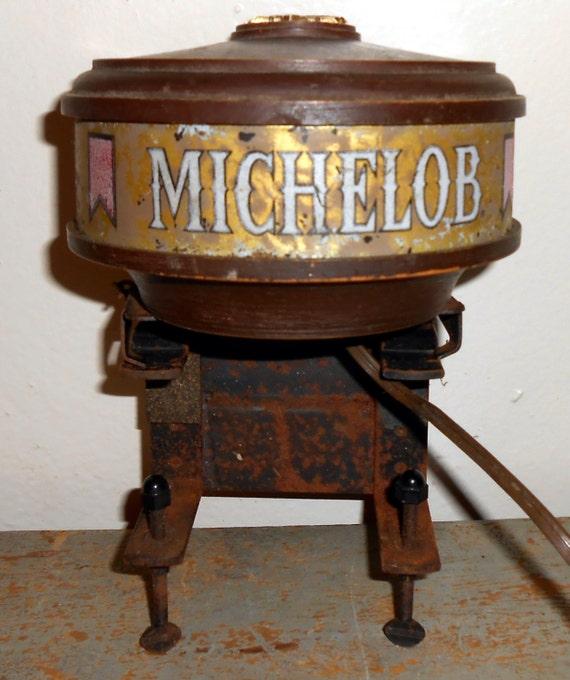 Vintage Bar Light Michelob Beer Bar Lamp Beer Light