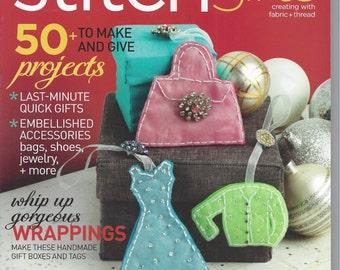 Interweave Stitch Magazine - Gifts 2012