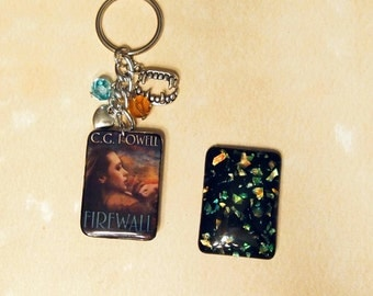 Custom Resin Key Ring 30pk
