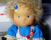 "Waldorf doll  ""Natasha""  for children from 2 years-12 inches"