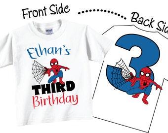 3rd Birthday Shirts, Third Birthday Shirts or Any Age Birthday Shirts