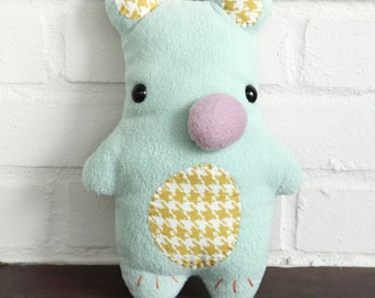 Bear Plush Toy - Soft toy - Stuffed toy - Stuffed Animal - Bear soft toy - Pillow -  READY TO SHIP