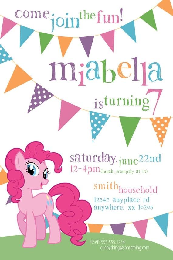My Little Pony Pinkie Pie Theme Birthday By CiciandBobos