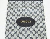 vintage 70's Gucci logo tote bag