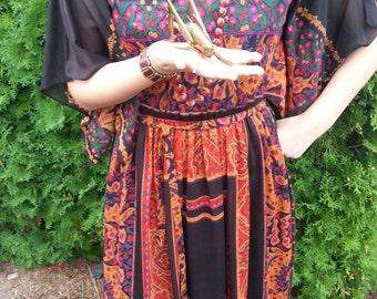 Pretty Sheer Hippie Dress