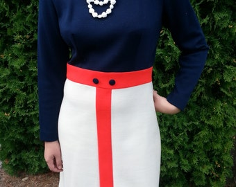 Block Design Mod Dress