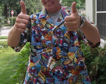 Great American Road Trip Shirt - Hawaiian Style XL