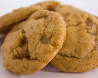 Brown Sugar Toffee Cookies - 24 cookies