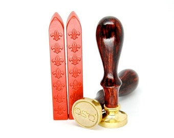 2 Red Non-Wick Sealing Wax Stick for Wax Seal Stamp