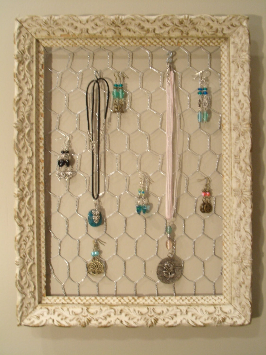 picture frame jewelry holders antique frame jewelry organizer display holder 3856