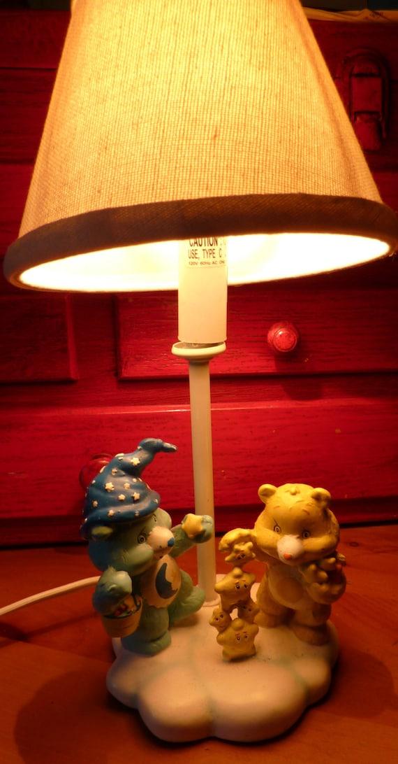 Vintage Care Bear Lamp Night Light