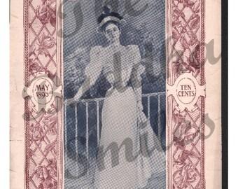 Vintage Magazine Cover, Ladies Home Journal   (1287)