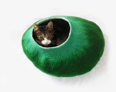 In the meadow Cat Bed Cave cat nap Cocoon House with free ball