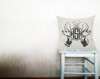 Monogrammed pillow cover pillow monogrammed pillow monogram pillow decorative throw pillows cover throw pillow 12x16 inches pillow