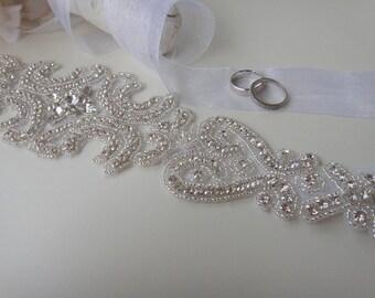 bridal sash, swarovski Crystal bridal belt, Wedding Belt, Bridal belt, bridal sash belt, Bridal belts Sashes, beaded bridal belt, novia