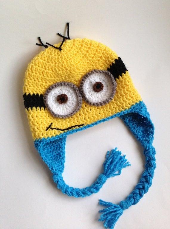 Minion Hat Crochet Hat Minion Crochet Minion Hat Hat