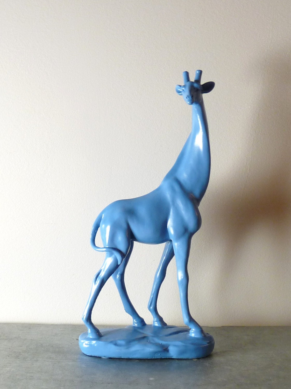 Giraffe Sculpture Figurine Giraffe Decor Animal Decor Home