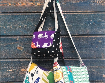 Pattern - Chunky Wee Bag Paper Sewing Pattern by Hunter's Design Studio