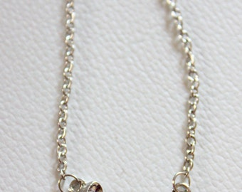 Love Tibetan Silver and Pearl Pendant Necklace
