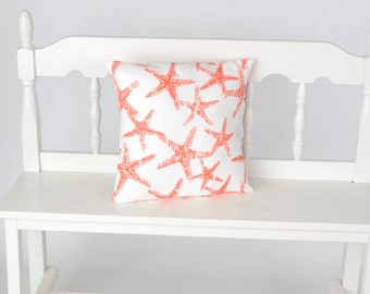 Decorative Starfish Pillow Cover