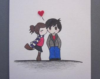 The Kiss, Love Card