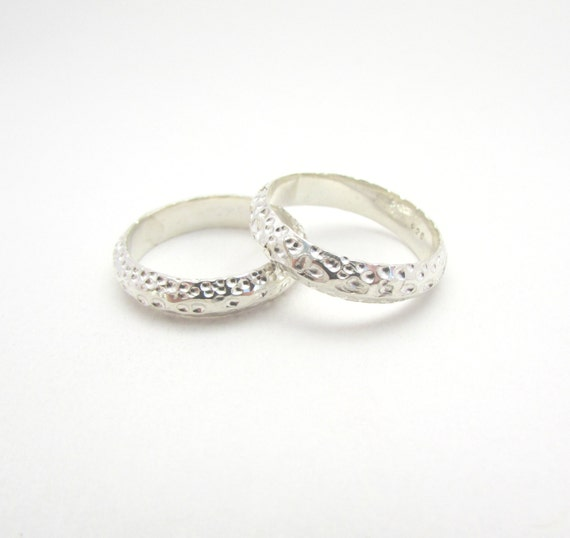 sterling silver thin band wedding ring slim by