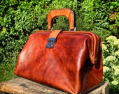 The Best Handmade Leather Doctor Bag You've Ever Seen