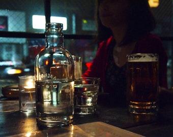 Midnight Glasses // Fine Art Photography // Urban Décor // Photo Print