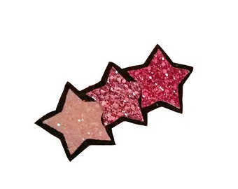 10% off with the code BDAY10  Stunning Pink Shooting Star Glitter Hair Clip