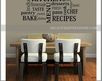 Kitchen Wall Decals Kitchen Wall Decal Season Everything With - Vinyl decals for kitchen walls