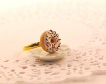 doughnut ring - food jewelry - food ring