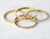 bangle bracelet - Jewelry - Bracelet - Bangle Bracelet - metal bracelet - gold bangle - gold bracelet engagement bracelet