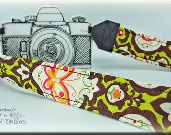 Camera strap, DSLR, camerastrap, retro brown