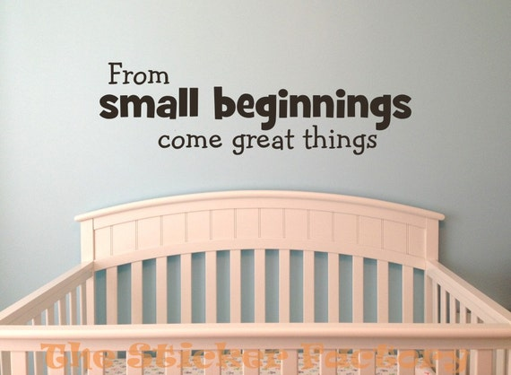 from small beginnings - photo #26
