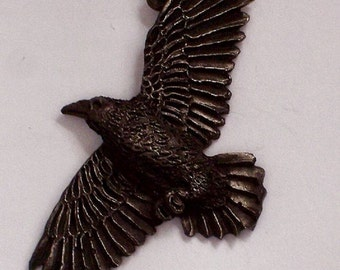 Raven on the wind     New Design Hand Carved........{ My B.Day  SALE  buy 1 get 1 free   5- 21  tell  5- 31 }