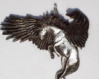 "Pegasus the  ""  Winged Horse "".   ..New Design Hand Carved"