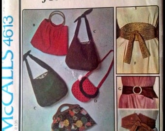 McCall's 4613  Accessories for All Seasons
