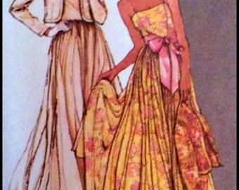 Simplicity  9364  Bridal Gown/Dress or Bridesmaid   Size  12  UNCUT