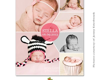 INSTANT DOWNLOAD Collage & Blog Board, Storyboard Photoshop templates - BL057